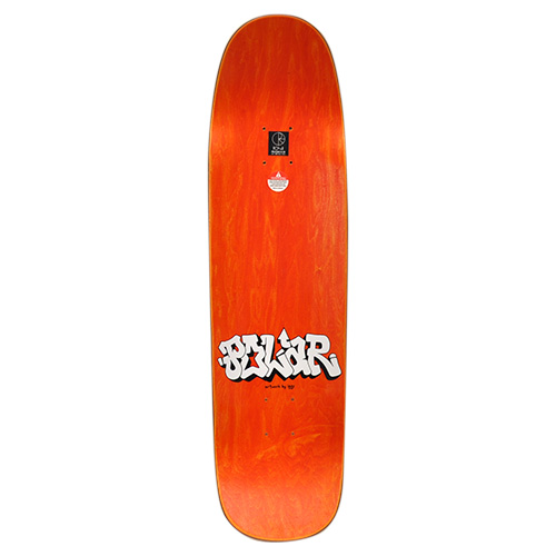 "IGGY x POLAR SKATE CO デッキ TEAM ""BOYZ ON A RAMP P9 ORANGE - 8.625"""