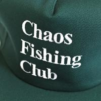 "CHAOS FISHING CLUB キャップ ""CFC 刺繍 SNAPBACK - GREEN"""