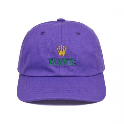 RAVE キャップ GMT CAP - PURPLE/RAVE