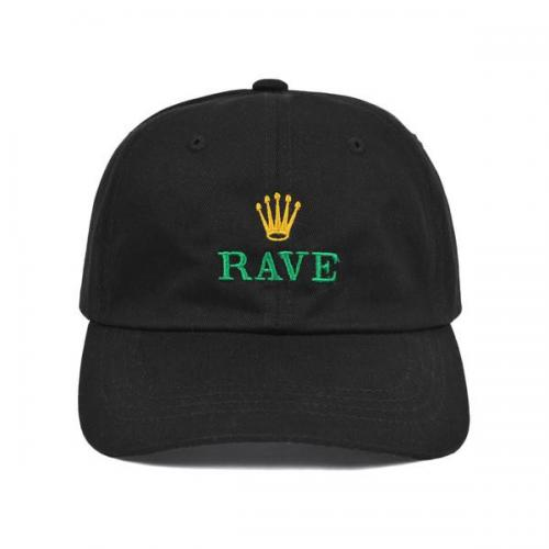 RAVE キャップ GMT CAP - BLACK/RAVE