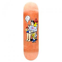 "POLAR SKATE CO デッキ AARON HERRINGTON ""JUST LIKE DRUGS ORANGE - 8.25"""