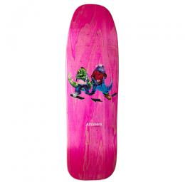 "ALLTIMERS デッキ TEAM ""FOSSIL GANG CRUISER PINK - 9.25"""