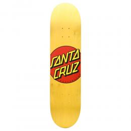 "SANTA CRUZ デッキ TEAM ""CLASSIC DOT YELLOW STAIN - 7.75"""