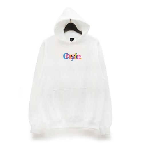 "CHRYSTIE NYC パーカー ""MASSIMO LOGO HOODIE - WHITE""/CHRYSTIE NYC"
