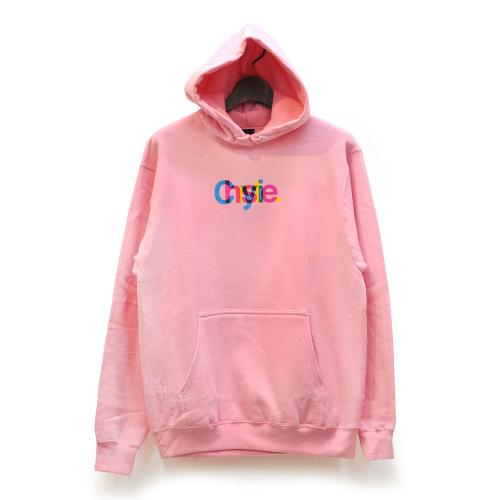 "CHRYSTIE NYC パーカー ""MASSIMO LOGO HOODIE - PINK""/CHRYSTIE NYC"