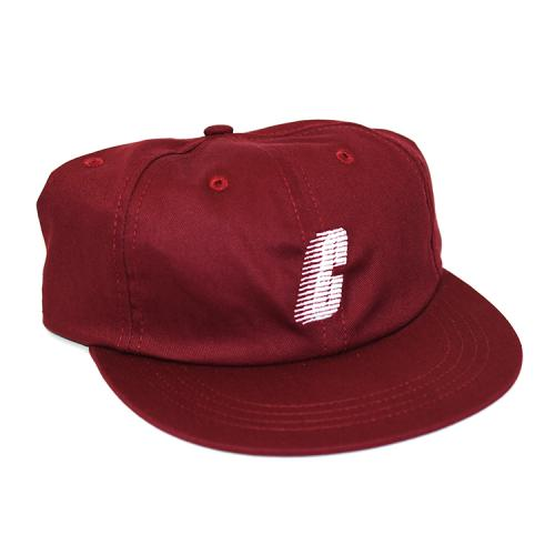 "CHRYSTIE NYC キャップ ""SMALL C LOGO DAD HAT - BURGUNDY""/CHRYSTIE NYC"