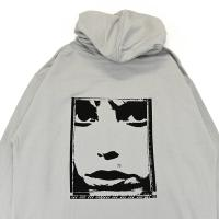 "OXFORD パーカー ""LIPS HOODIE - CEMENT"""