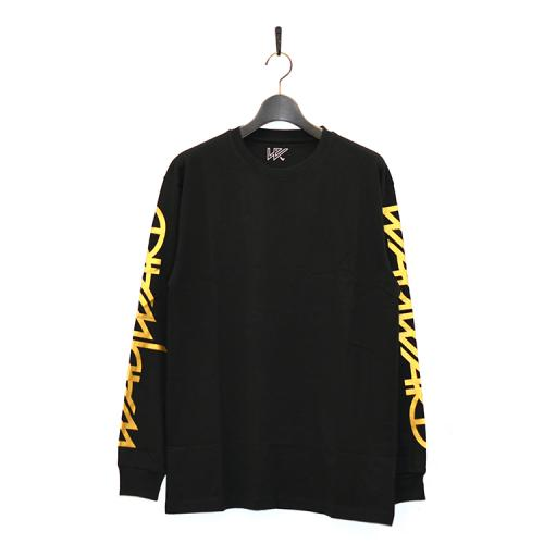 "WAYWARD LONDON ロングスリーブTシャツ ""DISCRIPTION SNIPES L/S - BLACK"""