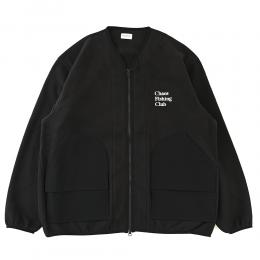 "CHAOS FISHING CLUB フリースジャケット ""CFC HUNTING JACKET - BLACK"""