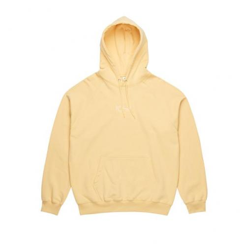 "POLAR SKATE CO パーカー ""DEFAULT HOODY - LIGHT YELLOW"""