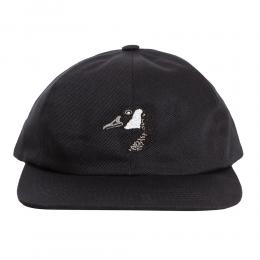 "GRAND COLLECTION キャップ ""GOOSE EMBROIDERED CAP - BLACK"""