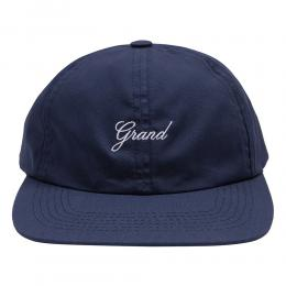 "GRAND COLLECTION キャップ ""GRAND SCRIPT CAP - NAVY"""