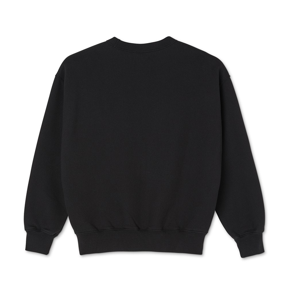 "POLAR SKATE CO スエット ""BIG BOY CLUB CREWNECK (20FA) - BLACK"""