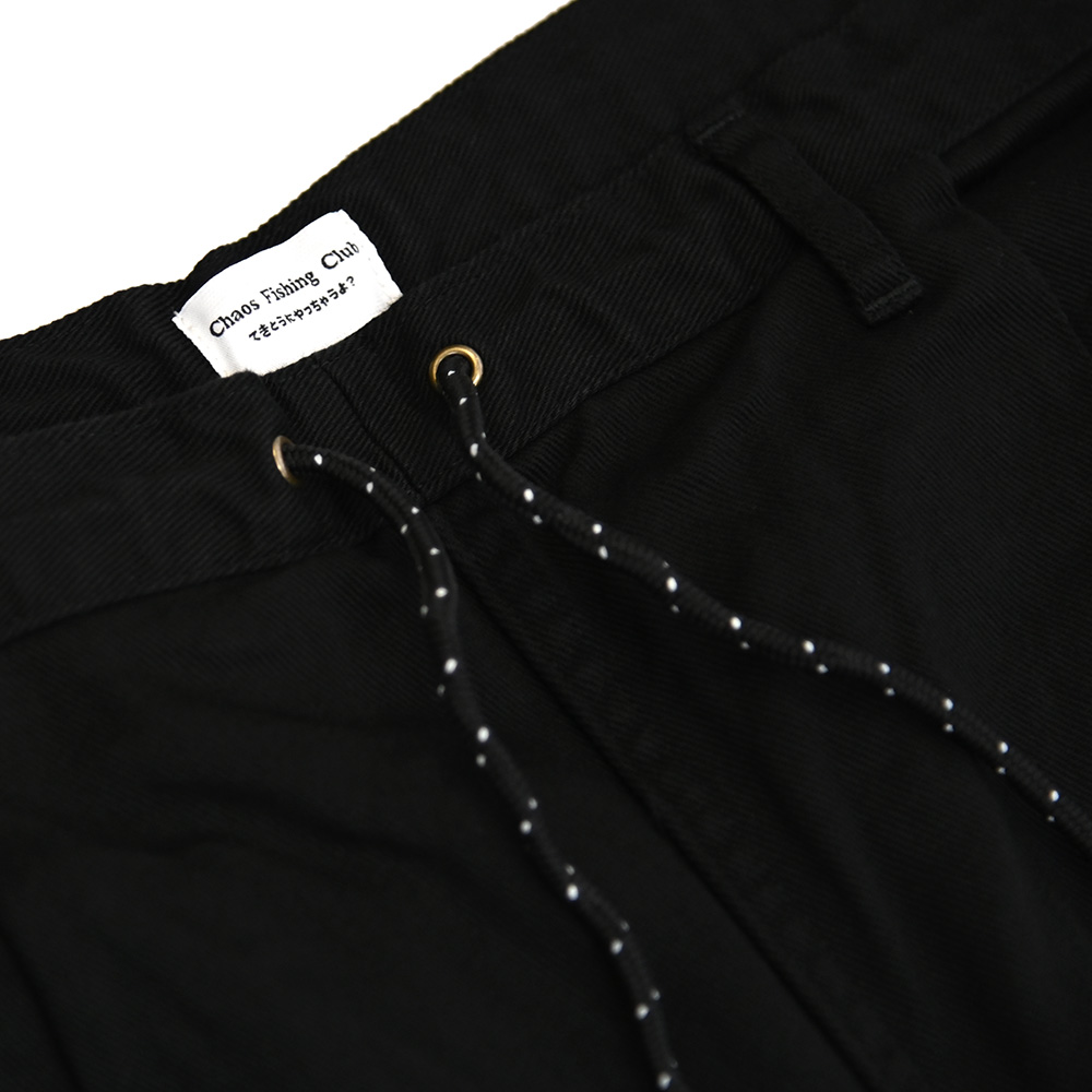 "CHAOS FISHING CLUB パンツ ""CFC LUCKY PANTS - BLACK"""