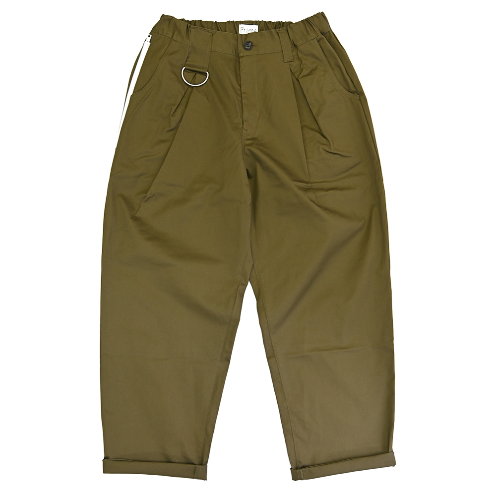 "FAKIE STANCE パンツ ""D-50 Prime LTD PANTS - OLIVE DRAB"" (SHORT LENGTH)/FAKIE STANCE"