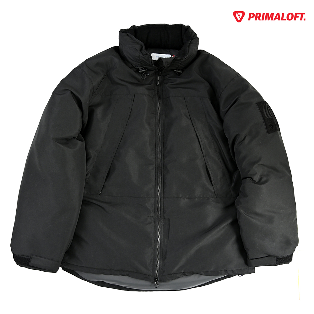 "clumsy. Pictures アウタージャケット ""LEVEL7 PRIMALOFT HAPPY JACKET - BLACK""/clumsy. PICTURES"