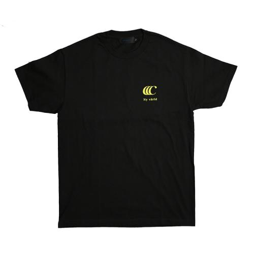 "clumsy. Pictures Tシャツ ""LIMITED CCC S/S TEE - BLACK/YELLOW"""