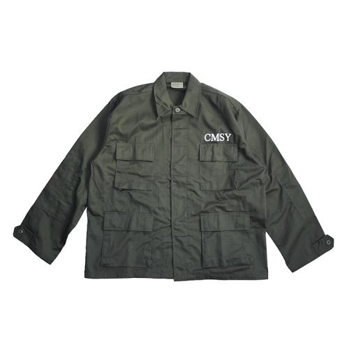 "【11月16日 午前0時発売開始】 clumsy. Pictures ジャケット ""BORDER FIELD JACKET - OLIVE DRAB""/clumsy. PICTURES"