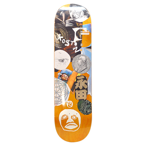 "NUMBERS EDITION デッキ ERIC KOSTON ""EDITION 7 - 8.5""/NUMBERS EDITION"