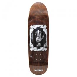"THEORIES OF ATLANTIS デッキ TEAM ""HAND OF THEORIES SD SHAPE BROWN - 9.0"""