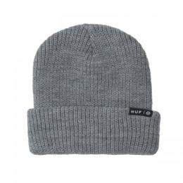 "HUF ニットキャップ ""USUAL BEANIE - GREY HEATHER"""