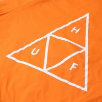 "HUF コーチジャケット ""ESSENTIALS TT COACHES JACKET - ORANGE"""