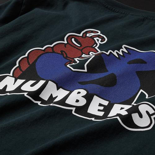 "NUMBERS EDITION Tシャツ ""TERMITE S/S TEE - BLACK"""