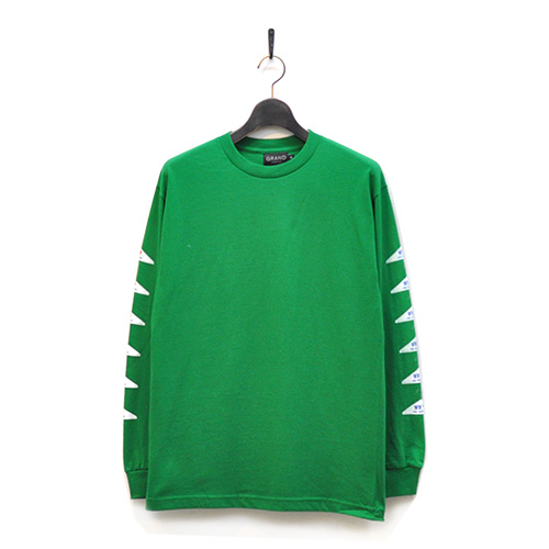 "GRAND COLLECTION ロングスリーブTシャツ ""DRY CLEANING LONG SLEEVE - GREEN"""