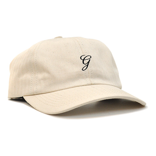"GRAND COLLECTION キャップ ""HERRINGBONE CAP - CREAM"""
