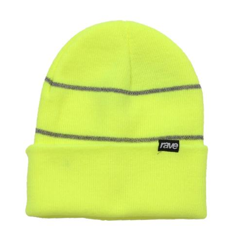 "RAVE ニットキャップ ""3M BEANIE - SAFETY YELLOW""/RAVE"