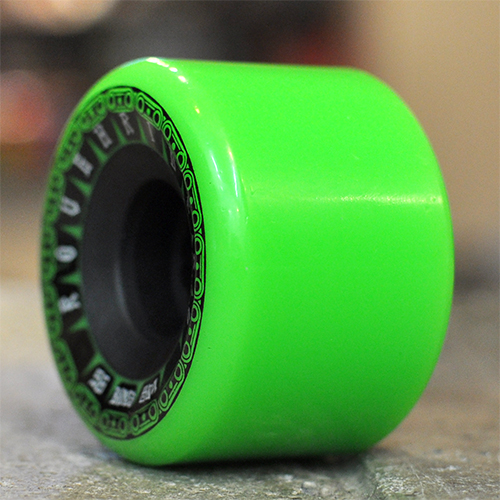 "BONES ウィール TEAM ""ATF ROUGH RIDERS TANK GREEN - 56MM / 80A"