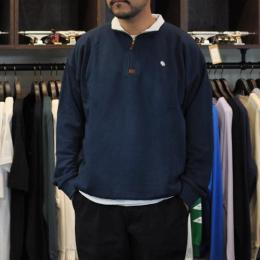 "MAGENTA スエット ""NECK ZIP CLUB - NAVY"""