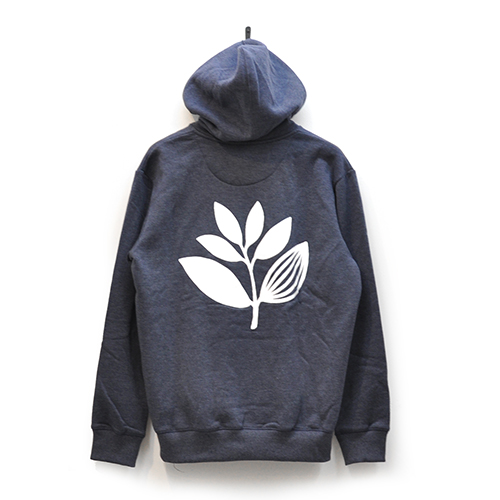"MAGENTA スエット ""CLASSIC PLANT HOODY (2017 FALL) - HEATHER NAVY""/MAGENTA"
