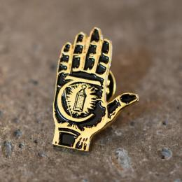"THEORIES OF ATLANTIS ピン ""HAND OF THEORIES PIN"""