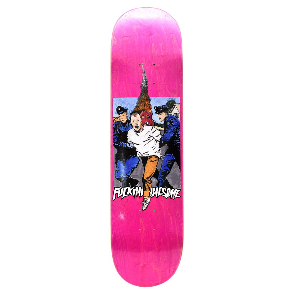 "FUCKING AWESOME デッキ JASON DILL ""ARRESTED DILL PINK - 8.18"""