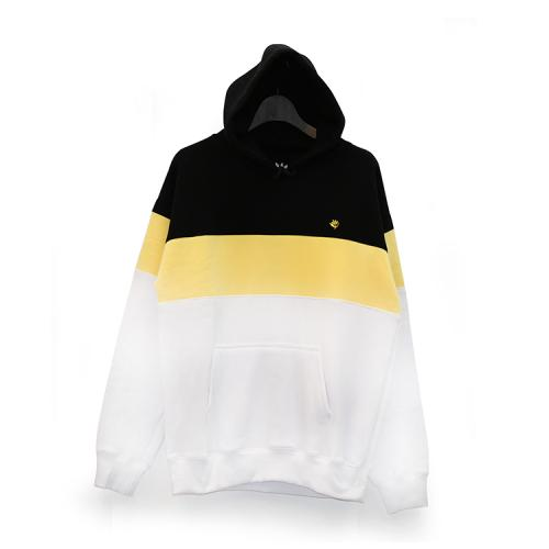 "MAGENTA パーカー ""HOODY BRODE - TRICOLOR(BLACK/YELLOW/WHITE)"""